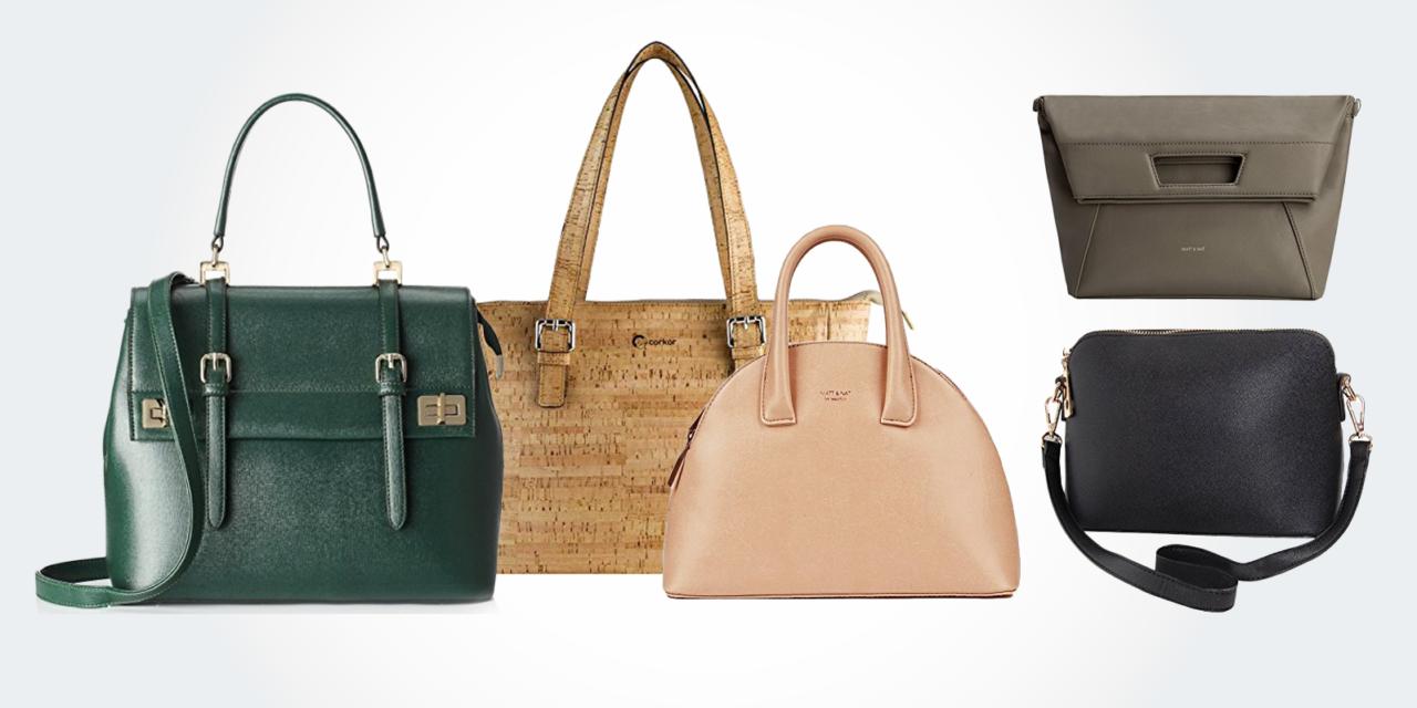 17 Best Vegan Leather Purses Bags Handbags